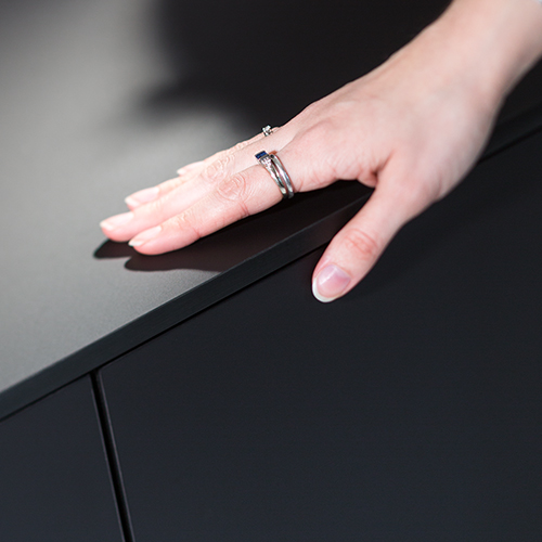 Stratifié anti-trace de doigt